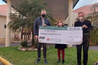 Deputada Federal destina emenda de R$ 200 mil para o Hospital Bom Pastor