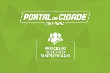 Processo Seletivo Simplificado 044/2021 | Município de Igrejinha
