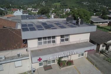 RGE instala Usina de Energia Solar no Hospital de Três Coroas