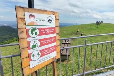 Turismo responsável: Parque Alto da Pedra intensifica ações de prevenção à Covid