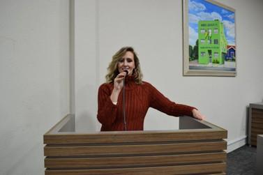 Vereadora Diana Spohr faz balanço de seu mandato nos primeiros seis meses