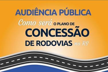 Audiências sobre concessão das rodovias da região acontecem nesta segunda (19)