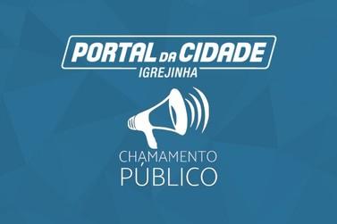 Edital de Chamamento Público 003/2021 | Município de Igrejinha