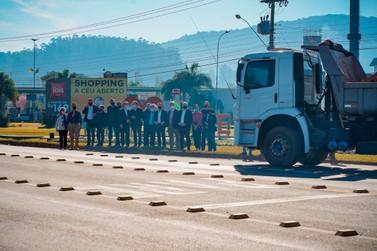 Interseções na ERS-115 são inauguradas no Vale do Paranhana