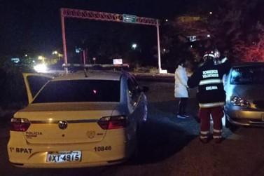 Mulher fica ferida após ser atropelada por veículo na ERS-115 em Igrejinha