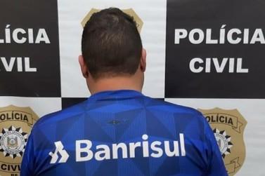 Polícia Civil de Igrejinha prende acusado de agredir idosa em roubo à residência