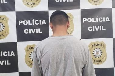 Polícia Civil prende em NH homem investigado por crimes cometidos em Igrejinha