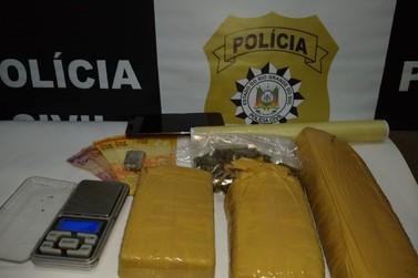 Polícia Civil prende preventivamente chefes do tráfico de drogas em Três Coroas