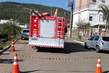 Princípio de incêndio em transformador mobiliza bombeiros em Igrejinha