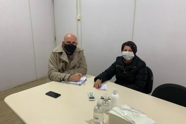 Vereadora discute projetos importantes com o Secretário Municipal de Saúde