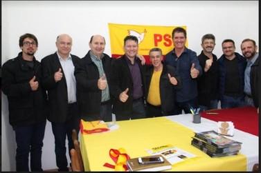 Beto Lemos assume a presidência do PSB de Taquara