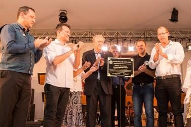 Municipio de Igrejinha inaugura Centro de Eventos