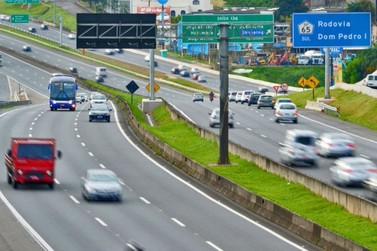 Sem vítimas fatais: Corredor D. Pedro recebeu 722 mil veículos no último feriado