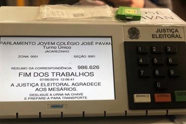 Eleição de vereadores mirins acontece em Jacarezinho