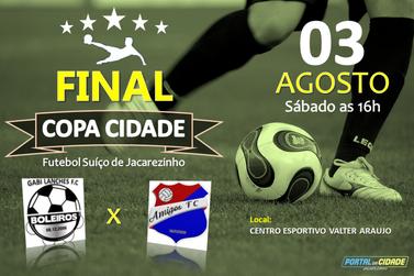 Final da Copa Cidade de Futebol Suíço de Jacarezinho