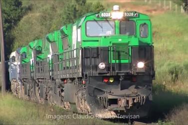 Morre menino de quatro anos atropelado por trem, em Ponta Grossa