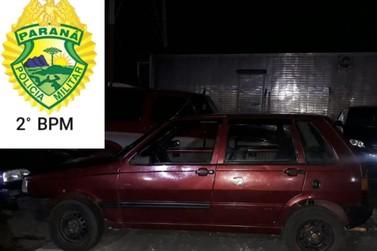 Veículo é apreendido em Ibaiti por motorista dirigir sem CNH
