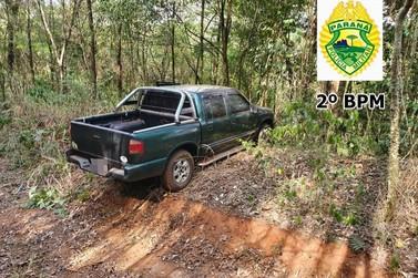 Homens roubaram camionete S10 e deixaram vítima amarrada