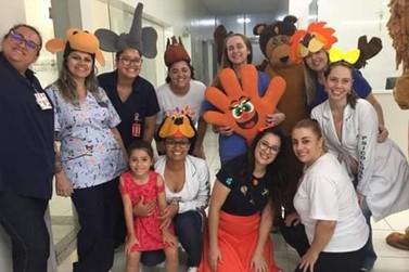 Santa Casa de Ourinhos realizou atividades especiais para as crianças internadas