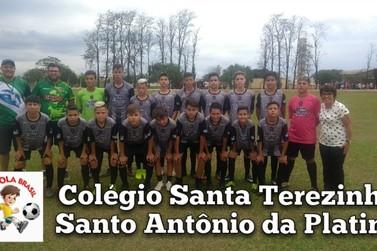 Santo Antônio conquista título no Futebol Masculino B no jogos Bom de Bola