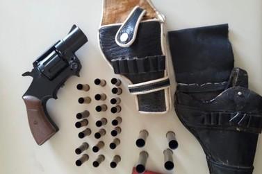 Arma de fogo é apreendida em Salto do Itararé neste domingo (01)