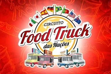 Circuito Food Truck das Nações ficará 3 dias na praça Rui Barbosa em Jacarezinho