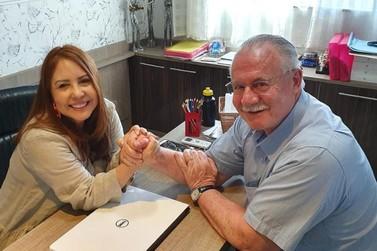 Ex Governador do Paraná vem a Jacarezinho e visita o Colégio Maranata