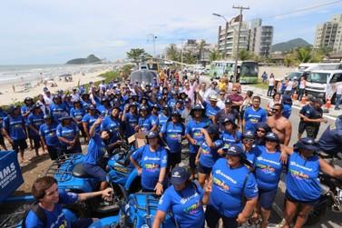 Limpeza das praias do litoral do Paraná começa, diz Sanepar