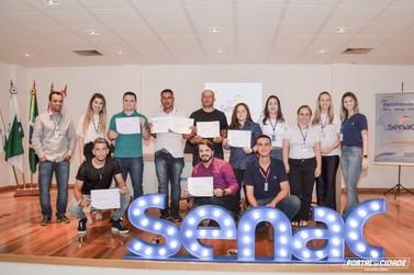 SENAC realizou formatura do curso profissionalizante de Barbeiro em Jacarezinho