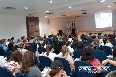 19ª Regional de Saúde e SESA promovem capacitação em Jacarezinho