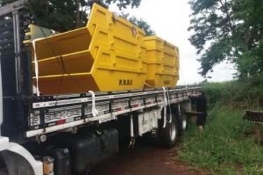 Prefeitura de Ribeirão Claro adquire 30 novas caçambas e expande serviço
