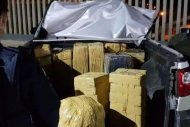 PRF flagra homem com 321 kg de maconha em Cornélio Procópio