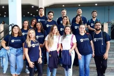 Professores do Colégio Magnus fazem capacitação do Objetivo em São Paulo