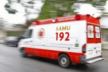 Acidente deixa motociclista ferido na BR 369 em Andirá