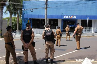 Caixa Econômica Federal de Jacarezinho sofre tentativa de arrombamento