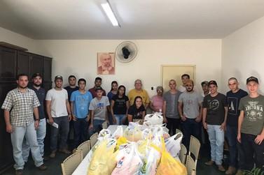 Centro Acadêmico de Agronomia promove ação solidária com calouros