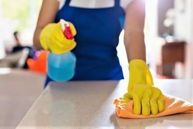 Limpeza e desinfecção de ambiente DOMICILIAR e COMERCIAL