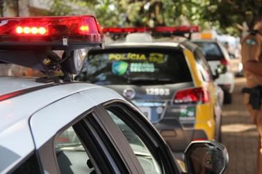 PM recupera em Santo Antônio da Platina táxi roubado em Quatiguá