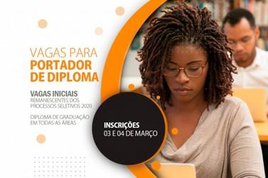 Processo Seletivo para portador de Diploma de Ensino Superior em vaga inicial