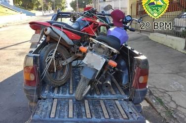 Quadrilha é presa vendendo motocicletas furtadas em Ribeirão do Pinhal