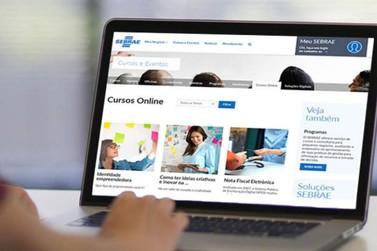 Sebrae oferece mais de 100 cursos gratuitos a distância