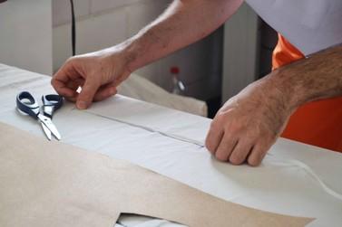 Presos do Paraná produzem materiais de proteção individual