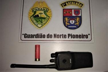 Confronto com arma de fogo em via pública de Jacarezinho PR