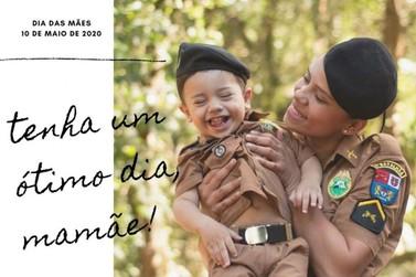 Policiais femininas do 2º BPM são homenageadas no Dia das Mães