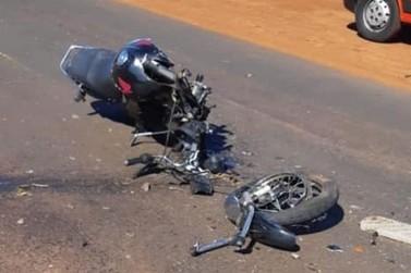 """Acidente deixa motociclista ferido na curva do """"S"""" entre Cambará e Jacarezinho"""
