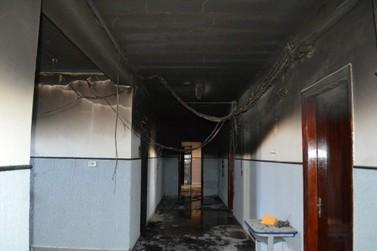 Desvendado caso de vandalismo e incêndio no Colégio Hermínia Lupion