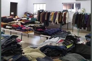 O Bazar do Asilo São Vicente de Paulo de Jacarezinho continua até mês de julho