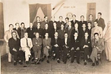 O Rotary Club de Jacarezinho no anos 40