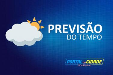 Previsão do tempo para este sábado, 13 de junho, em Jacarezinho