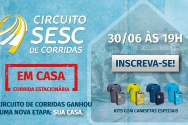 """Último dia de inscrições para Circuito Sesc de Corridas com """"Etapa em Casa"""""""